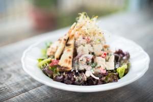 Salade de poulet fermier rôti